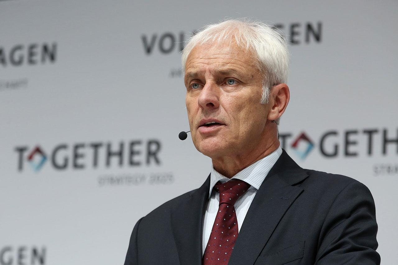 Volkswagens vd får sparken