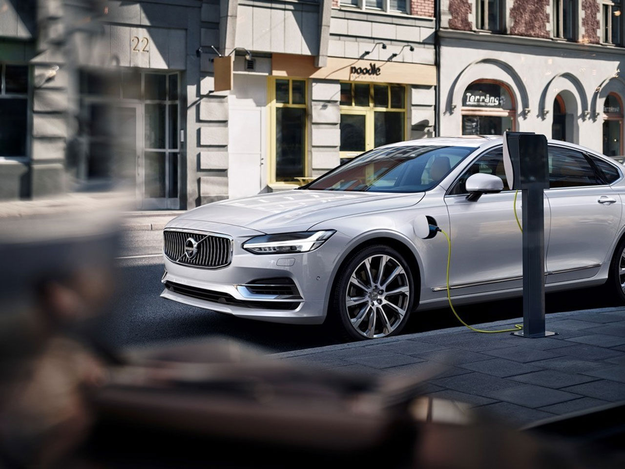 Volvo fokuserar just nu på elektrifiering