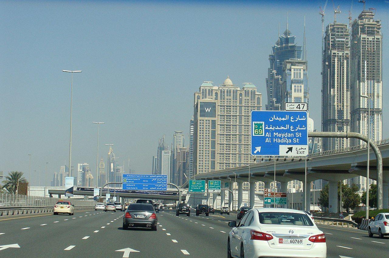 Dubai ska testa smarta registreringsskyltar