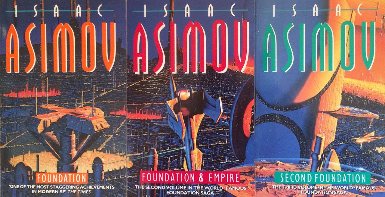 Apple gör tv av Isaac Asimovs Foundation-böcker