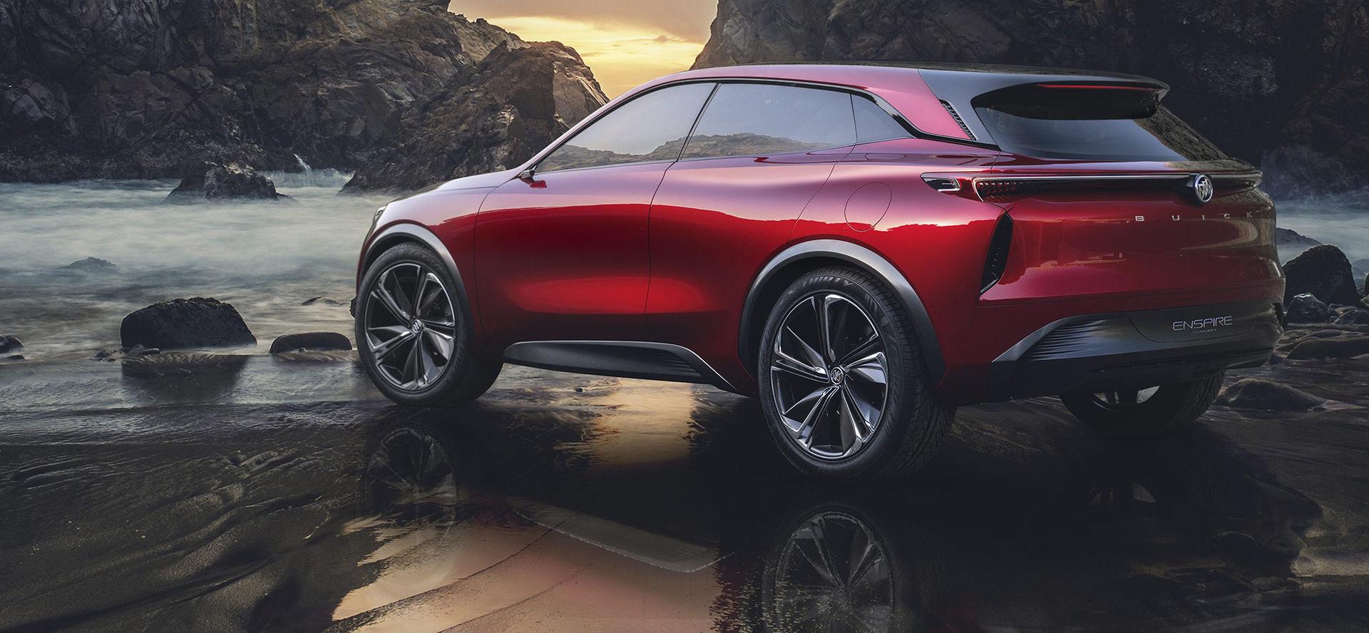 Buick visar eldrivet SUV-koncept
