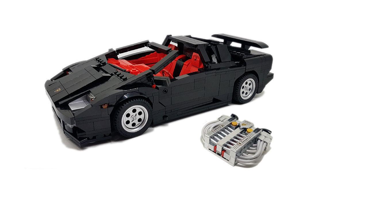 Lamborghini Diablo i Lego
