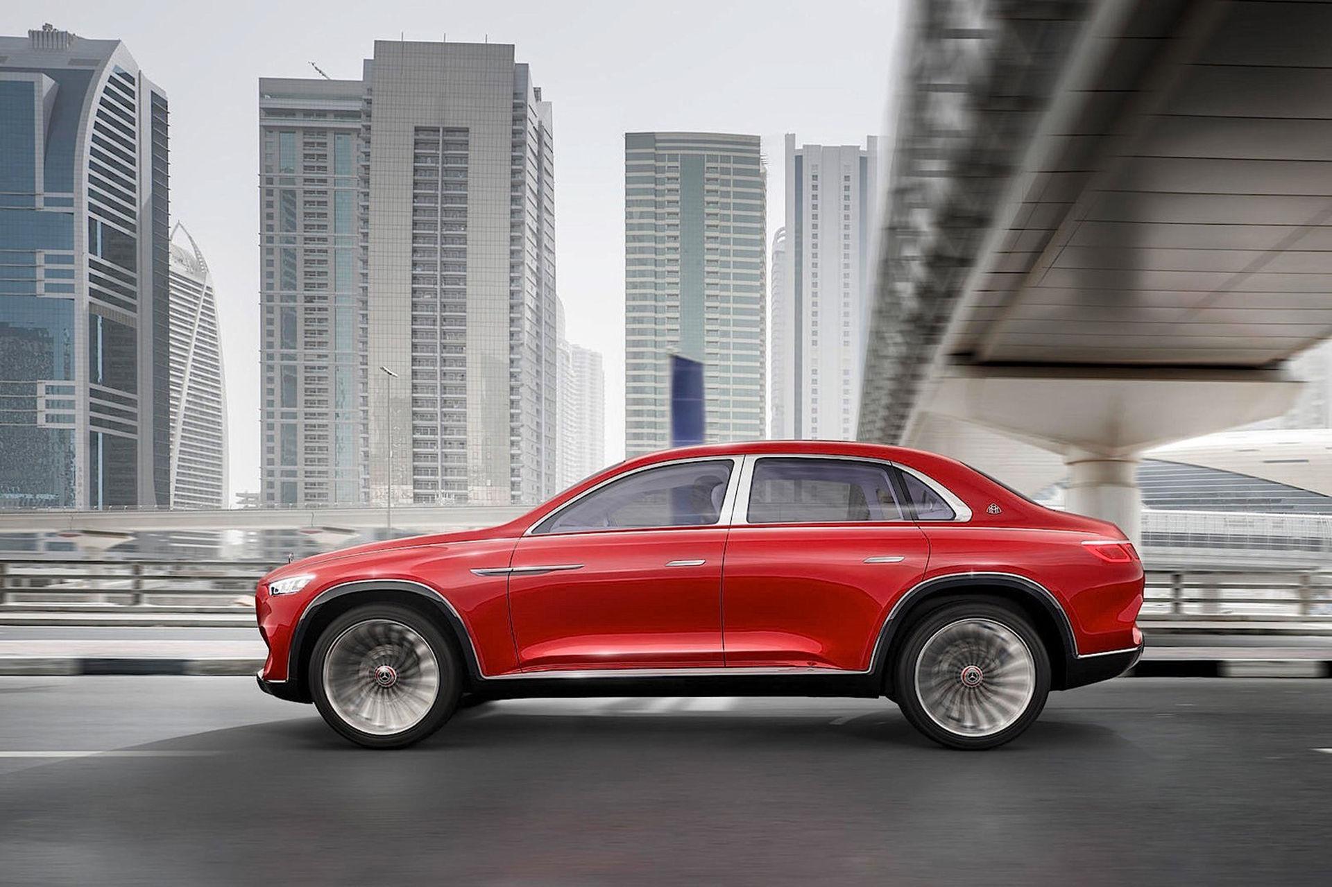 Mercedes Maybach-SUV läcker ut