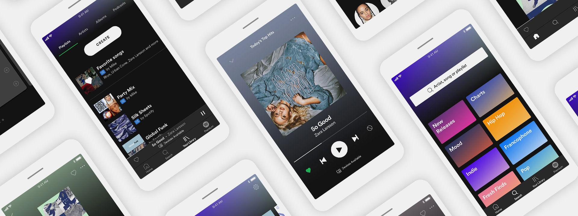 Spotify utökar sin gratisversion