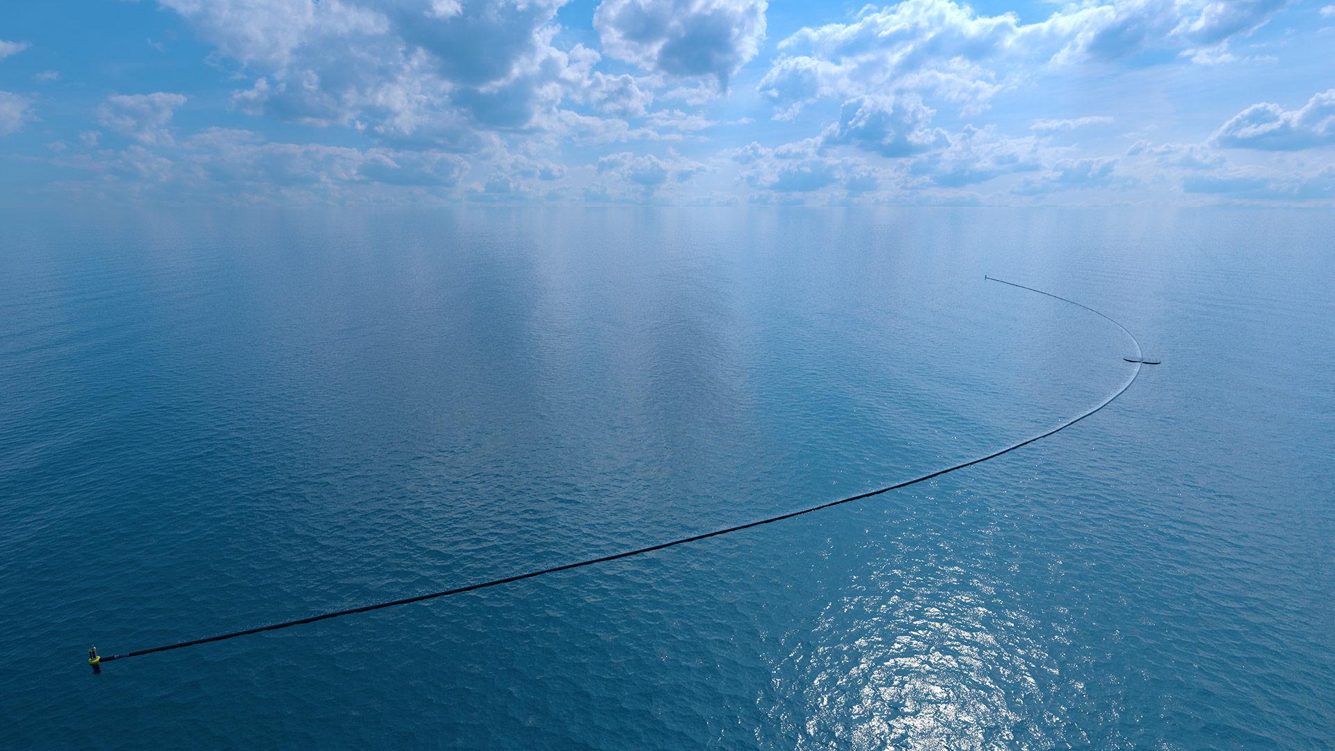 Nu sjösätts Ocean Cleanup