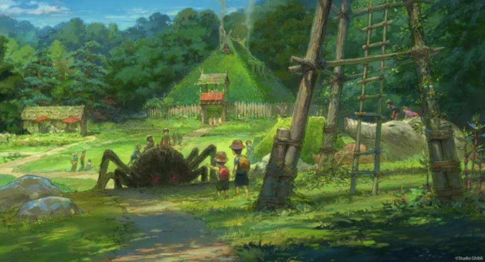 En första titt på Ghibli Park