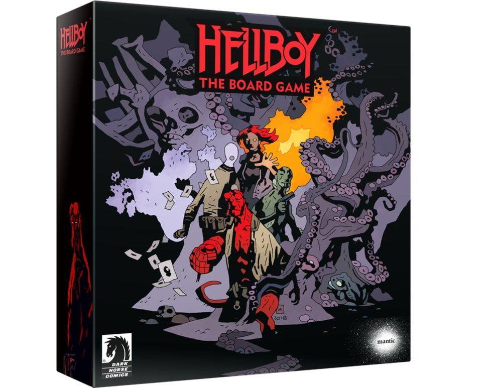 Hellboy-baserat brädspel finansierades på några sekunder