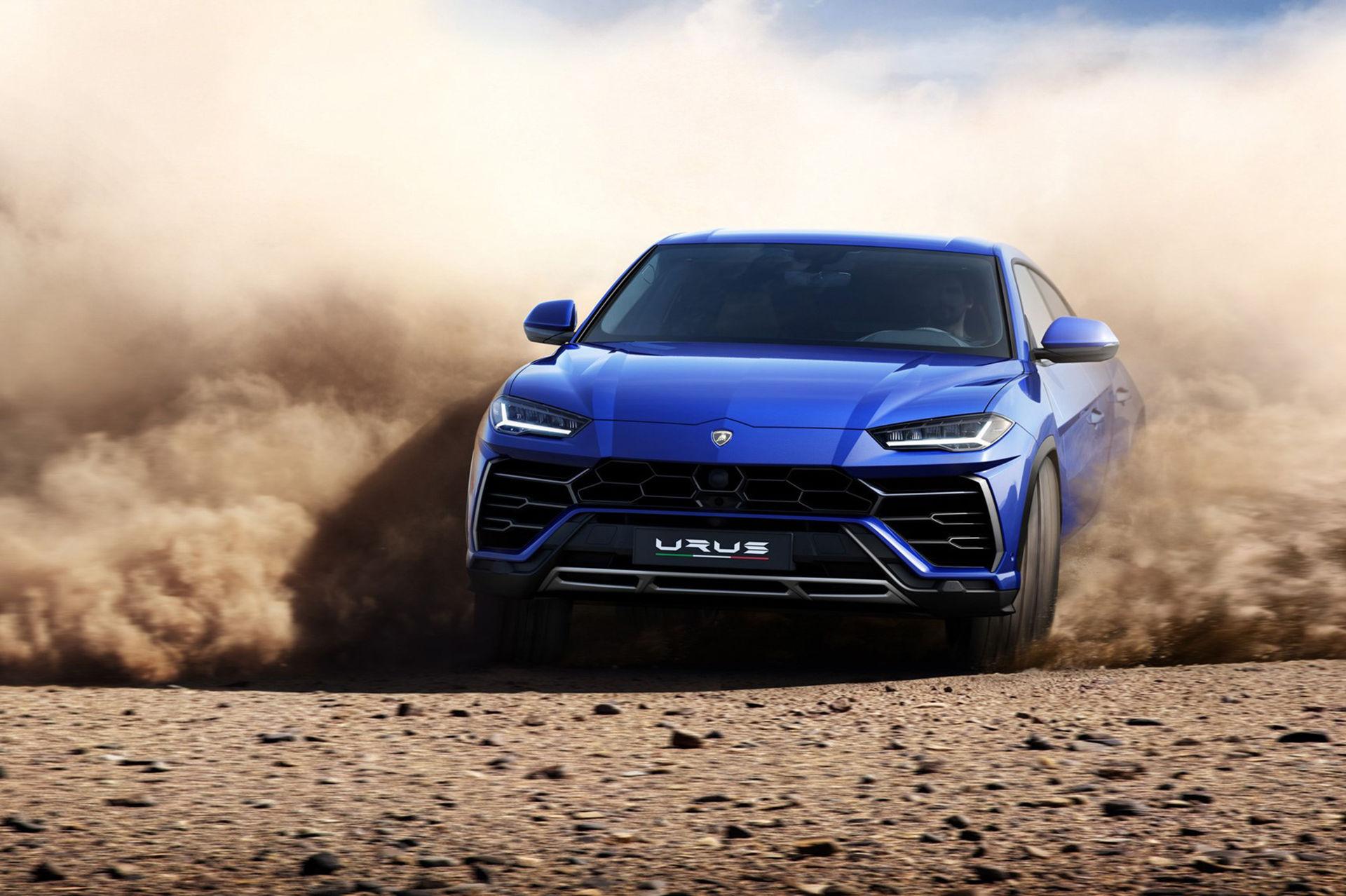 Laddhybrid-version av Lamborghini Urus kommer nästa år