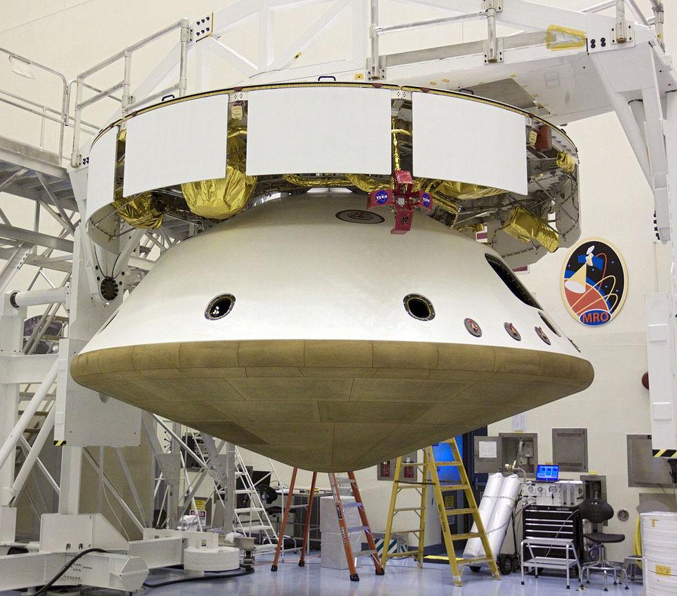 Värmeskölden på Mars 2020-farkost skadad under test