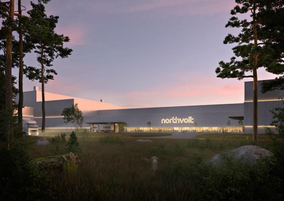 Nu har Northvolt börjat bygga anläggning i Västerås