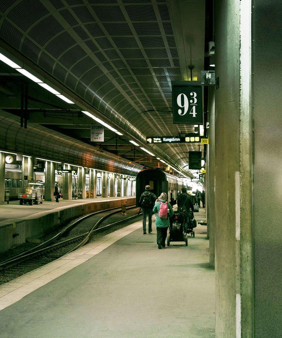 Stockholms Centralstation får Harry Potter-perrong