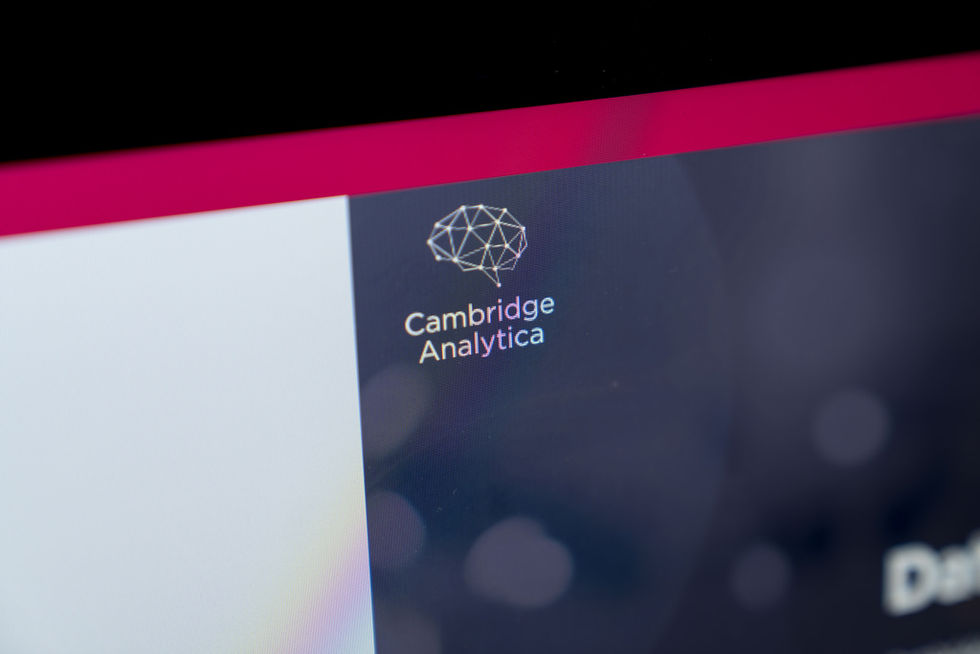 Hejdå Cambridge Analytica