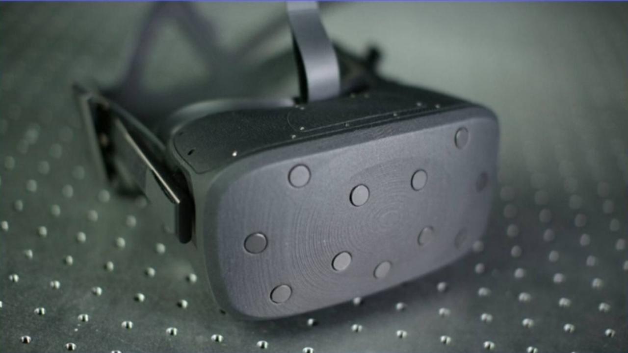 Oculus visar ny prototyp för VR-headset