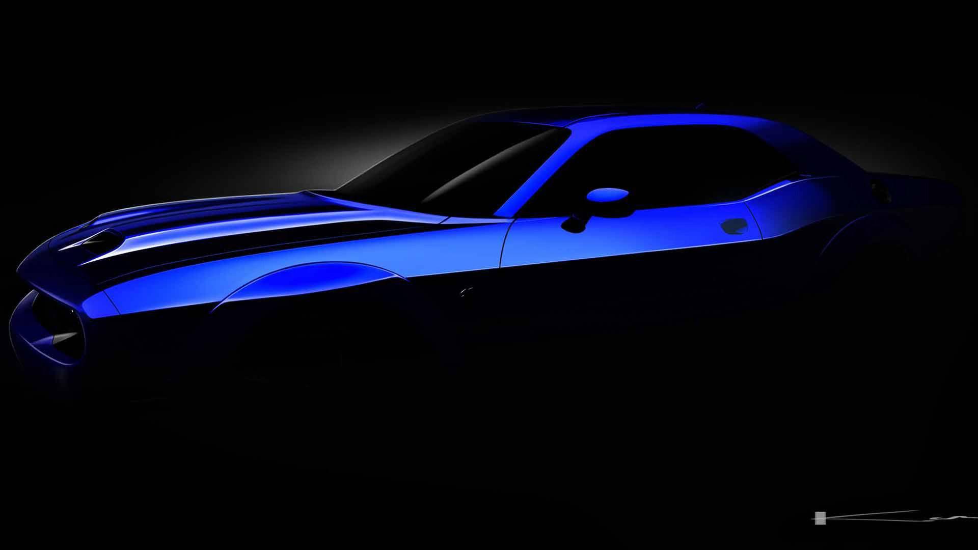 Dodge har facelift av Challenger SRT Hellcat på gång