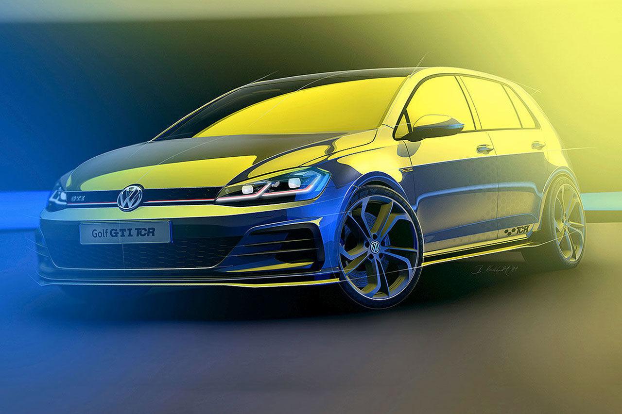 Teaser för ny specialversion av Volkswagen Golf GTI