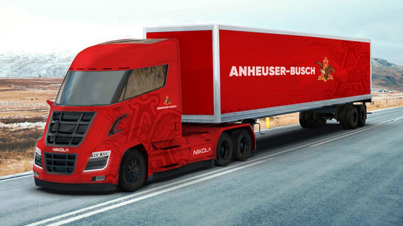 Nikola Motors får in beställning på 800 stycken lastbilar