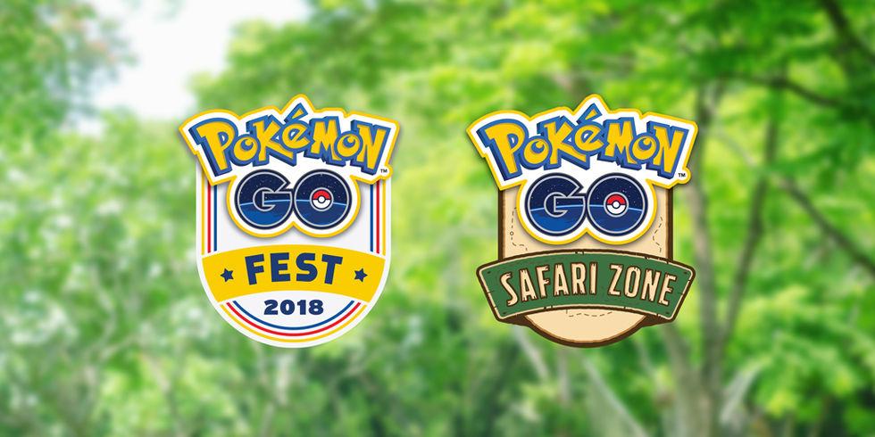 Niantic presenterar Pokémon GO Summer Tour 2018