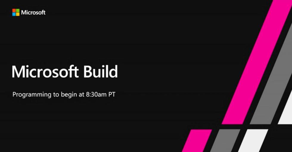 Idag drar Microsoft Build igång