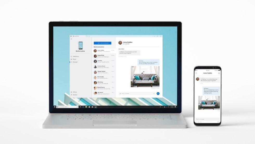 Kom åt mobilen från Windows med Your Phone
