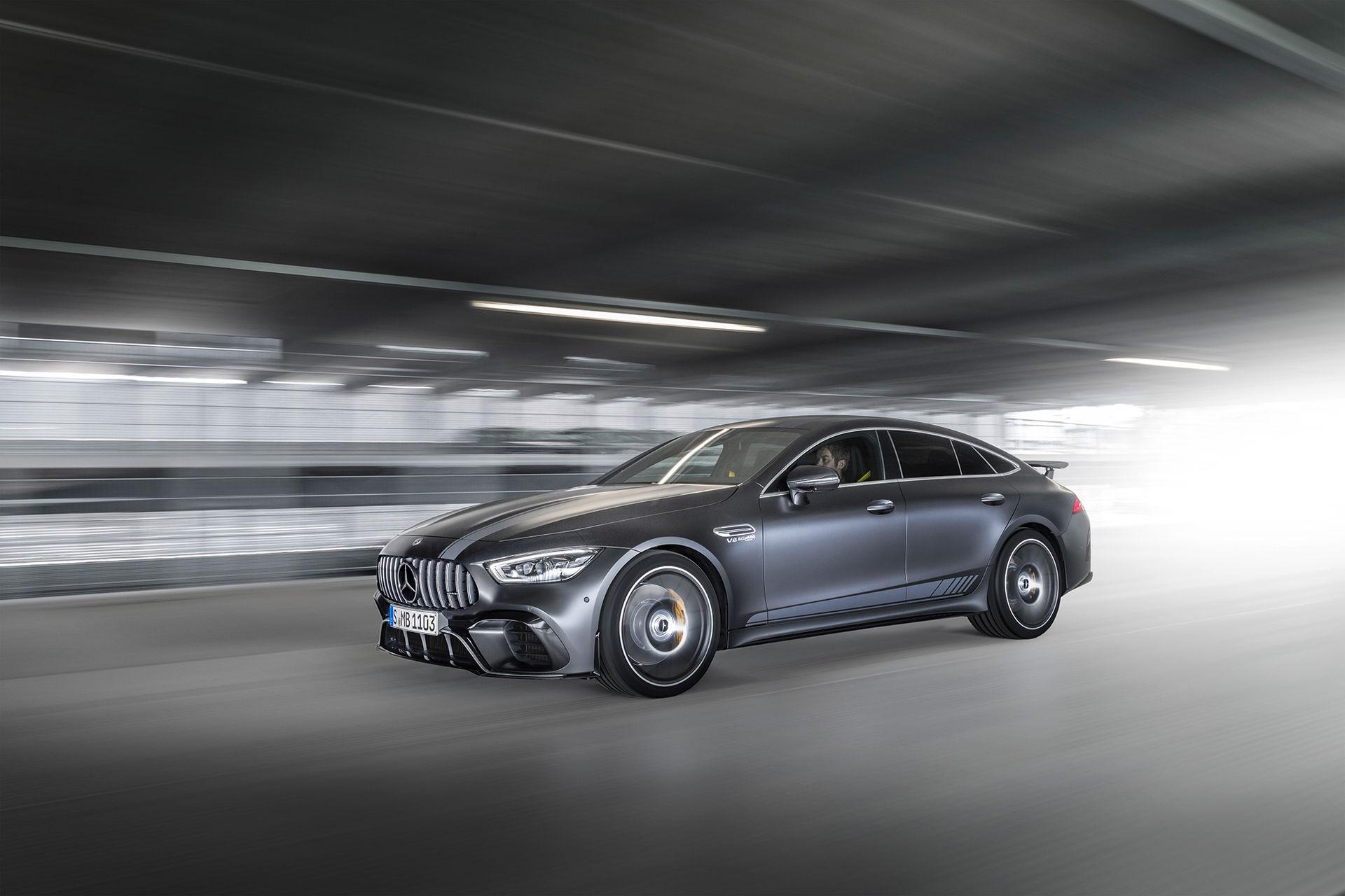 Mercedes visar Edition 1-version av fyrdörrars AMG GT