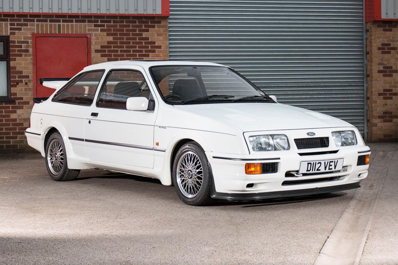 Bjud på den första Ford Sierra Cosworth RS500:an