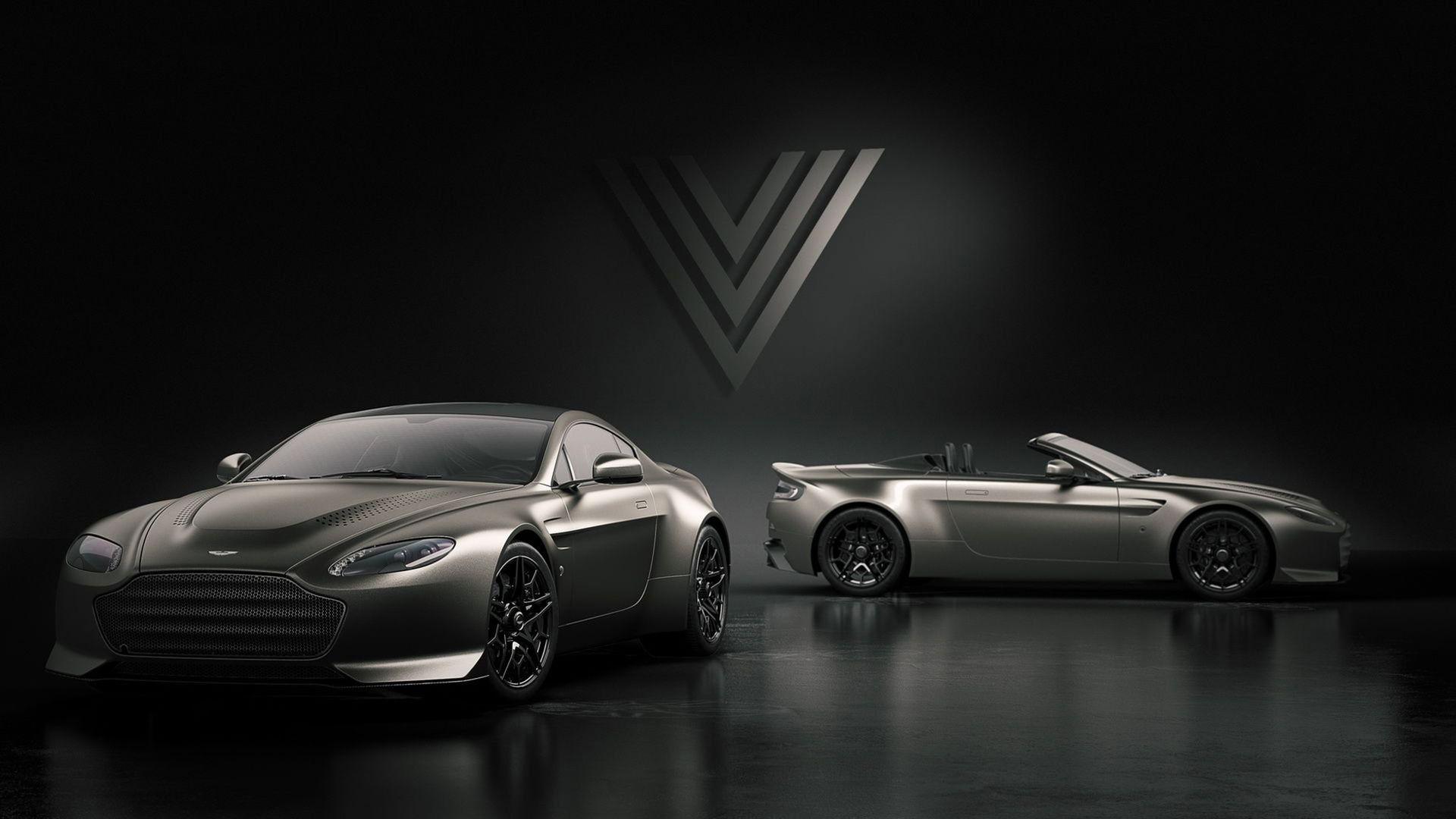 Aston Martin återupplivar Vantage V600