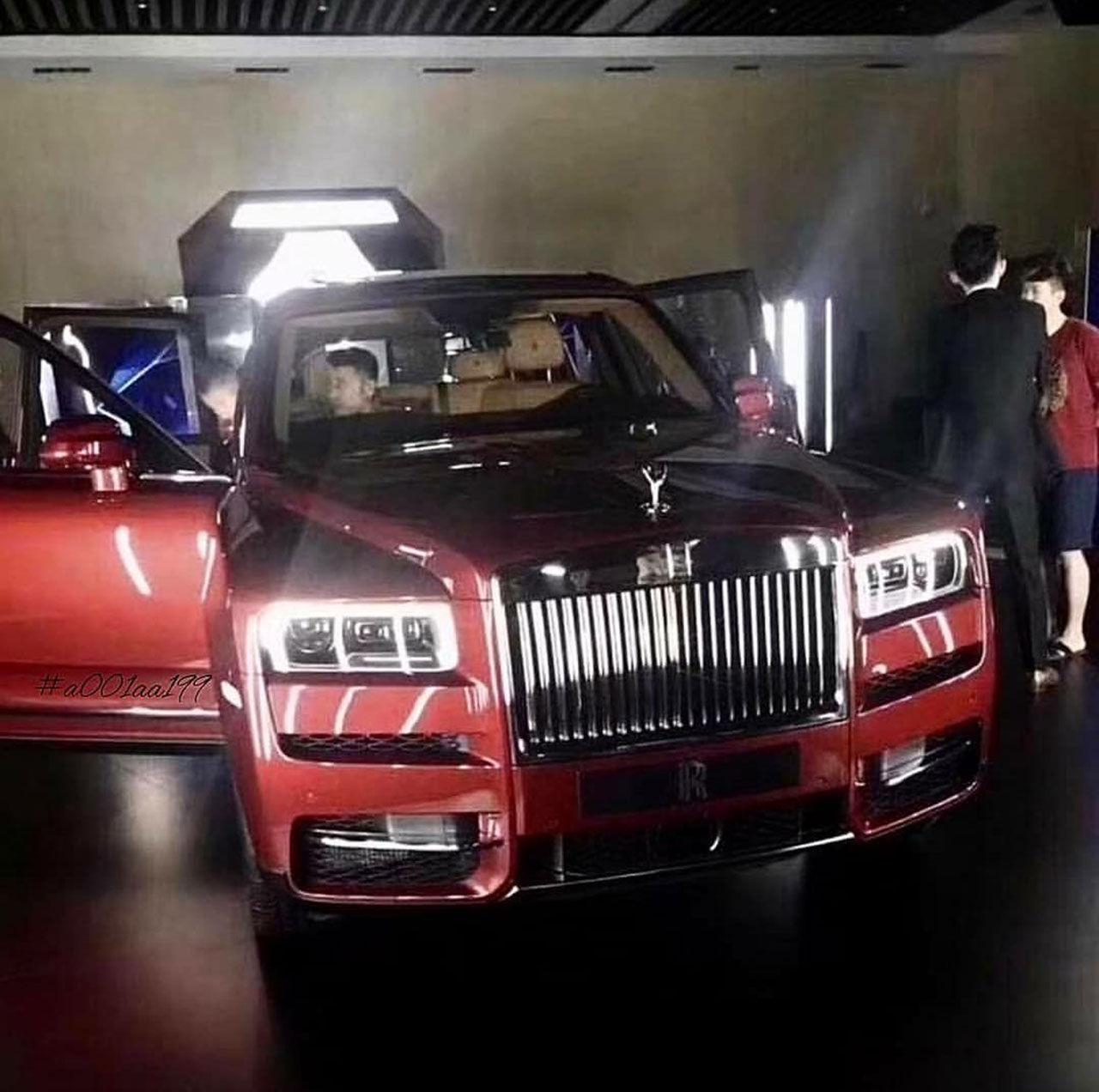 Rolls-Royce Cullinan läcker ut