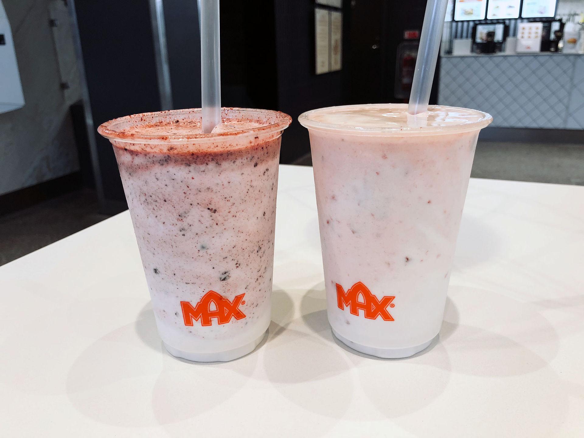 Max börjar med milkshakes utan milk