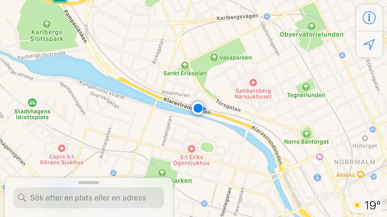 Apple plockar bort appar som delar användares position