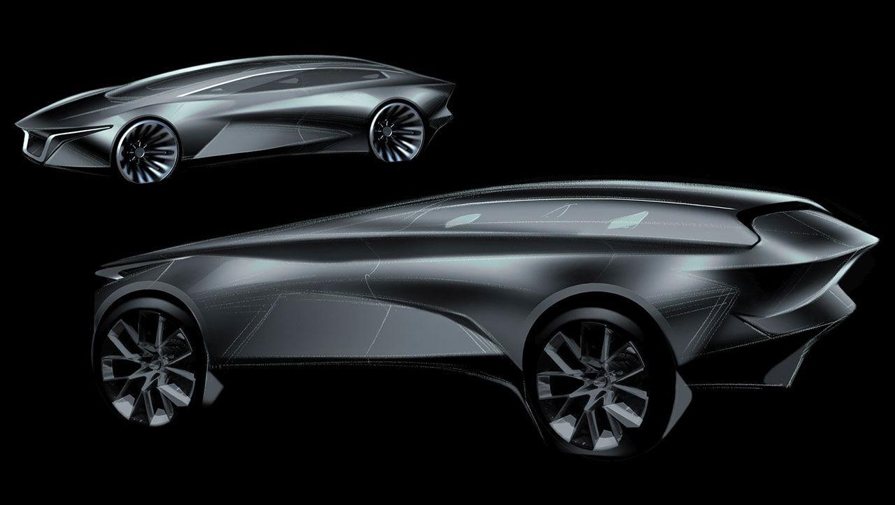 Aston Martin Lagonda återuppstår som eldriven SUV