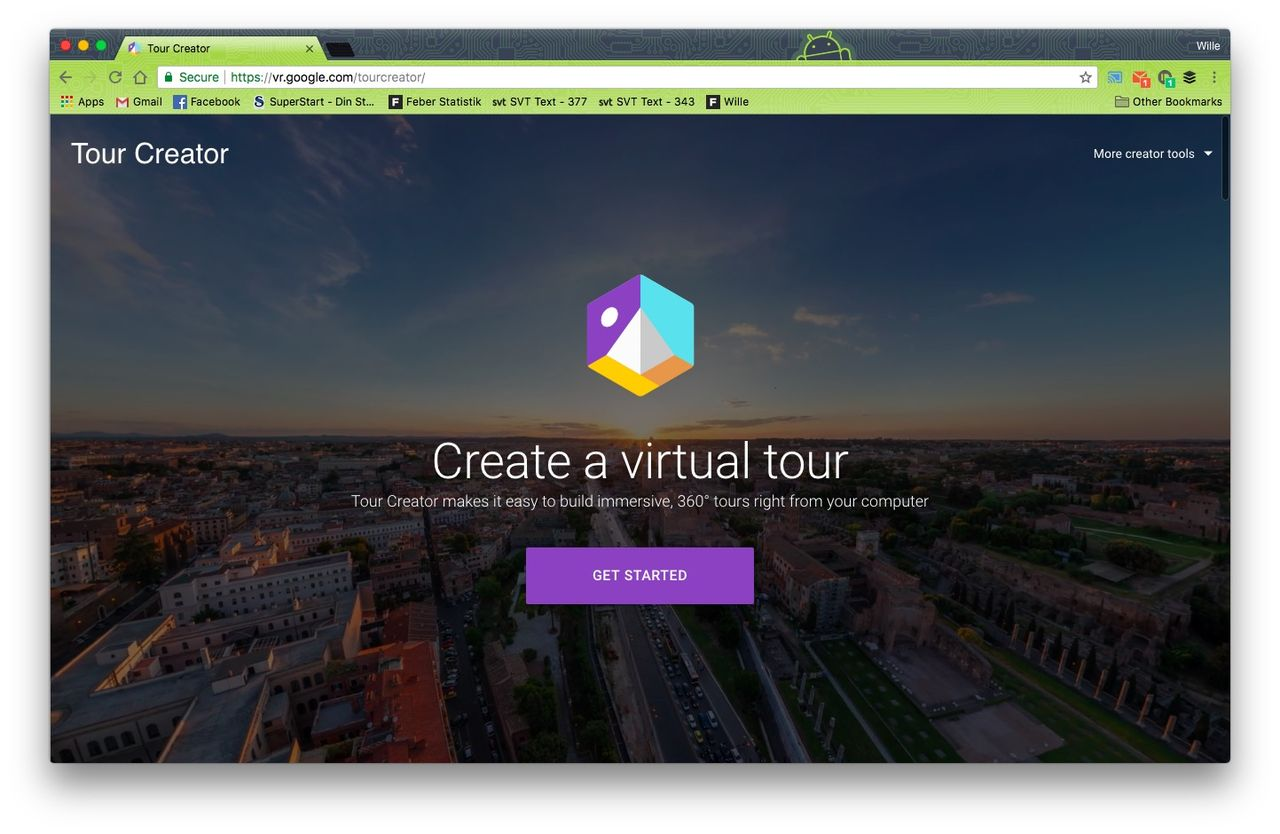 Google släpper Tour Creator