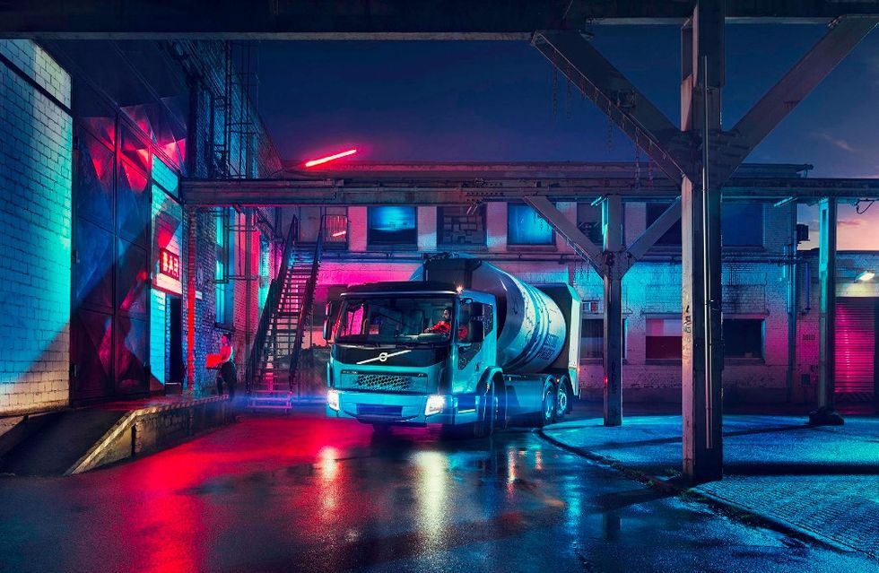 Volvo visar upp eldriven sopbil