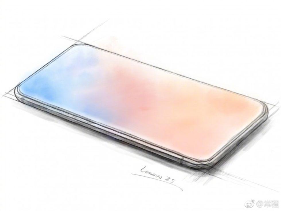 Lenovo teasar telefon med skärm överallt