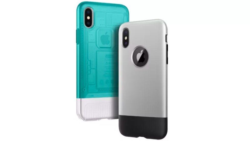 Fodral får iPhone X att se ut som iPhone 1