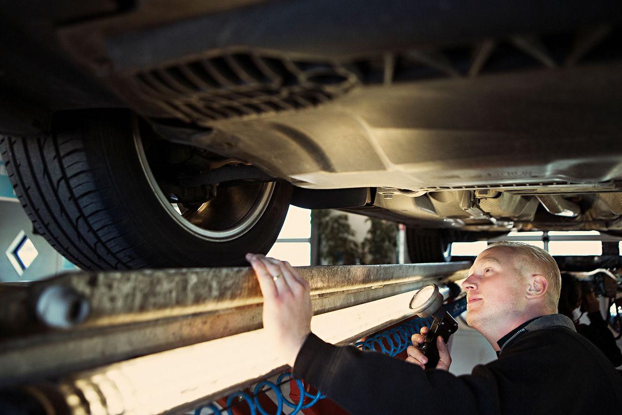 På söndag får 114.400 fordon körförbud