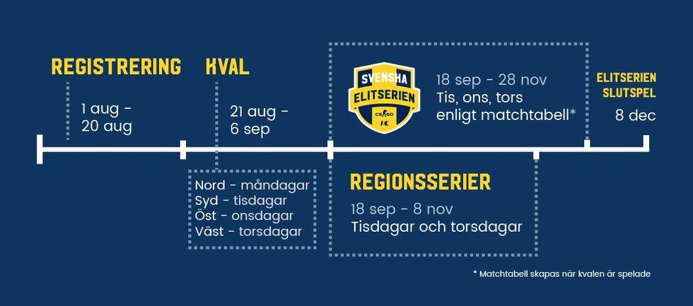 Svenska Elitserien är en ny liga för e-sport