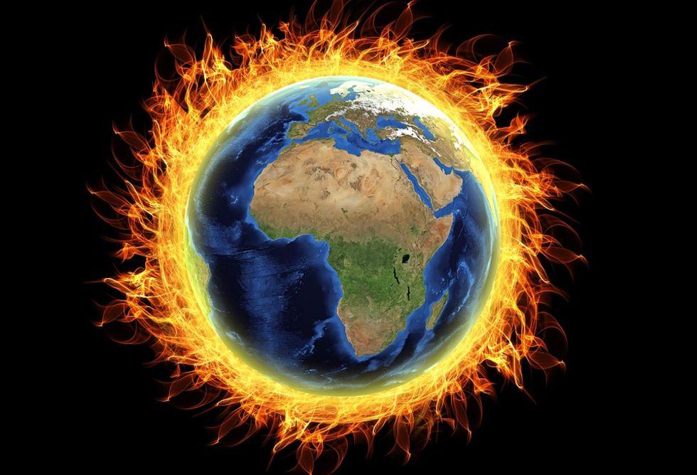 Nu har det gått 400 månader i rad då jorden varit för varm
