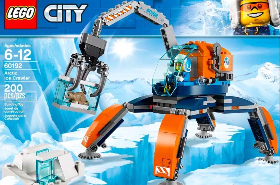 LEGO drar till Nordpolen