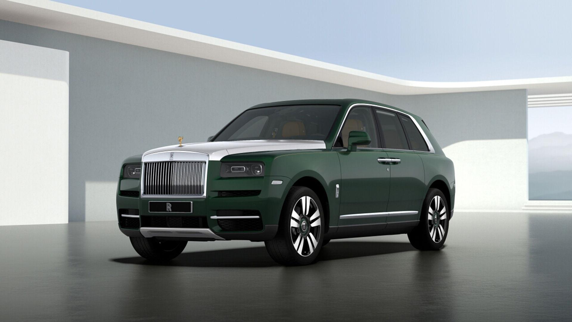Nu kan du bygga din Rolls-Royce Cullinan på nätet