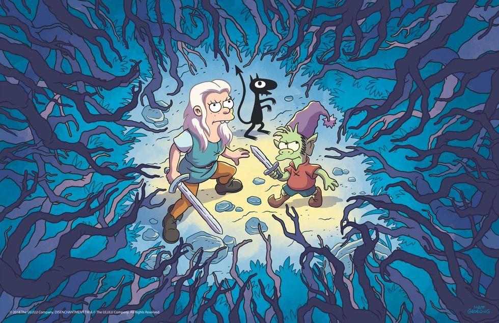 Netflix börjar sända Matt Groenings Disenchantment i augusti