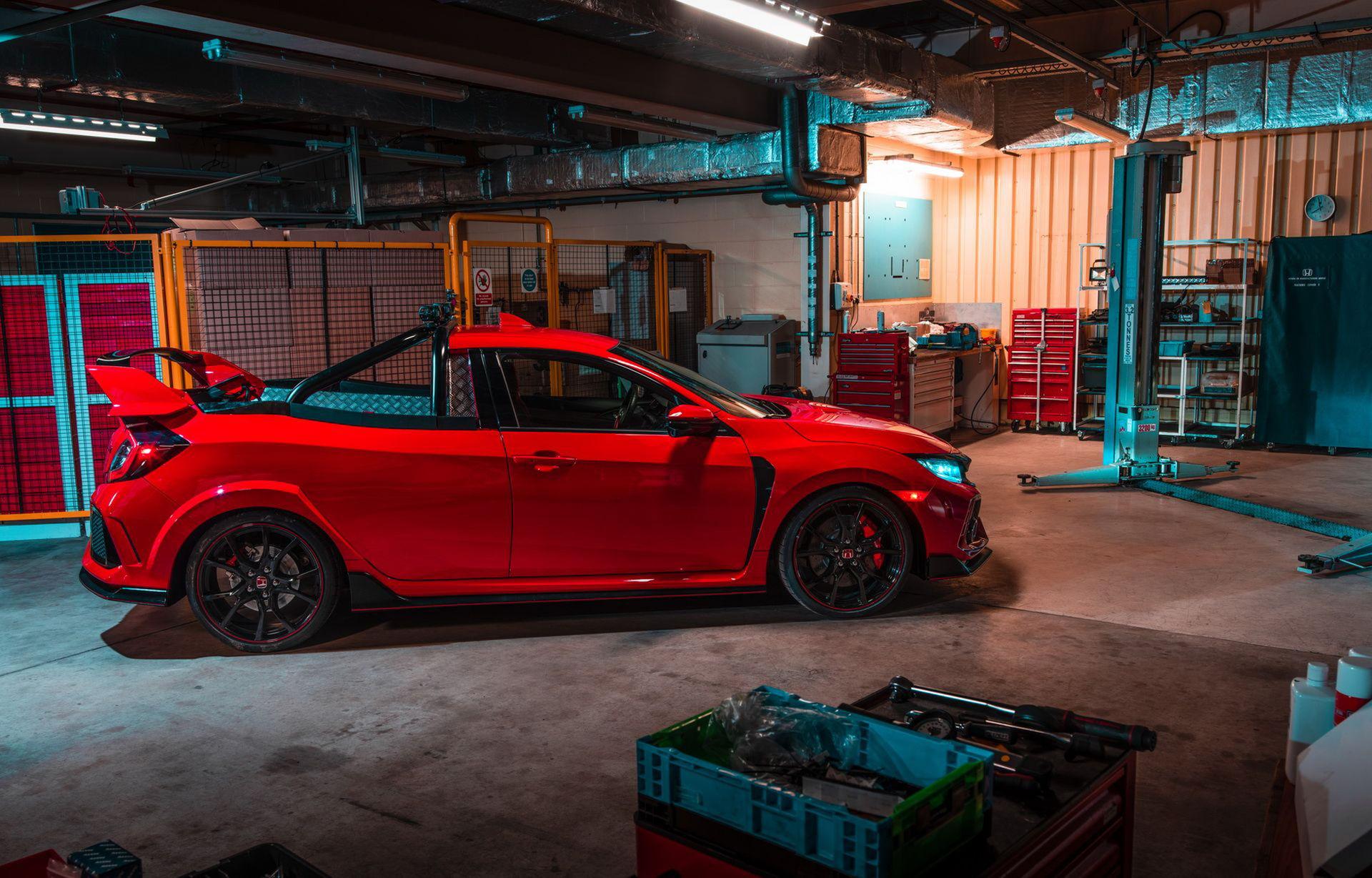Honda Civic Type R som pickup