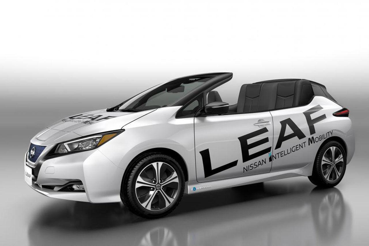 Nissan Leaf som cabriolet