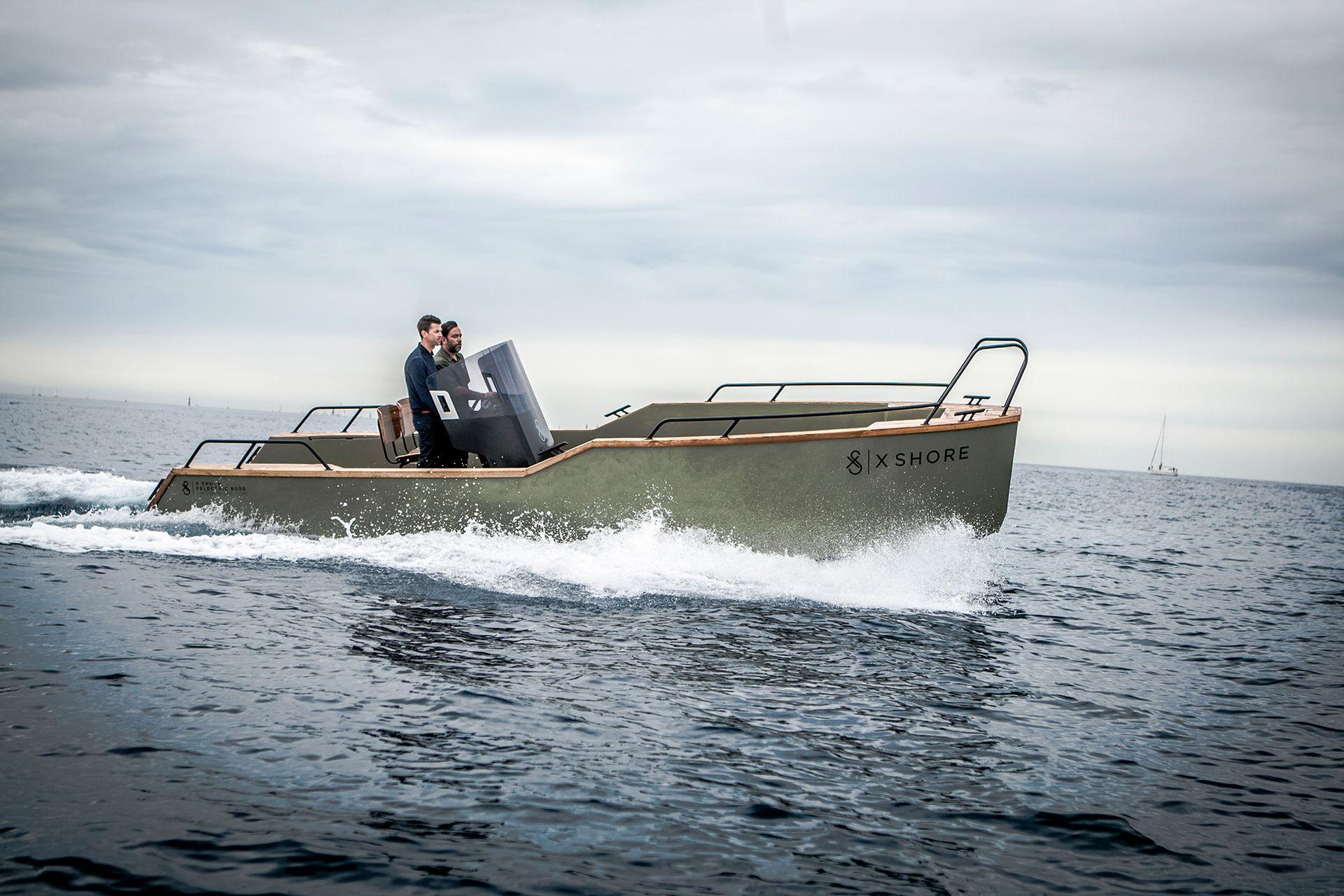 X Shore visar upp sin eldrivna båt i ny film