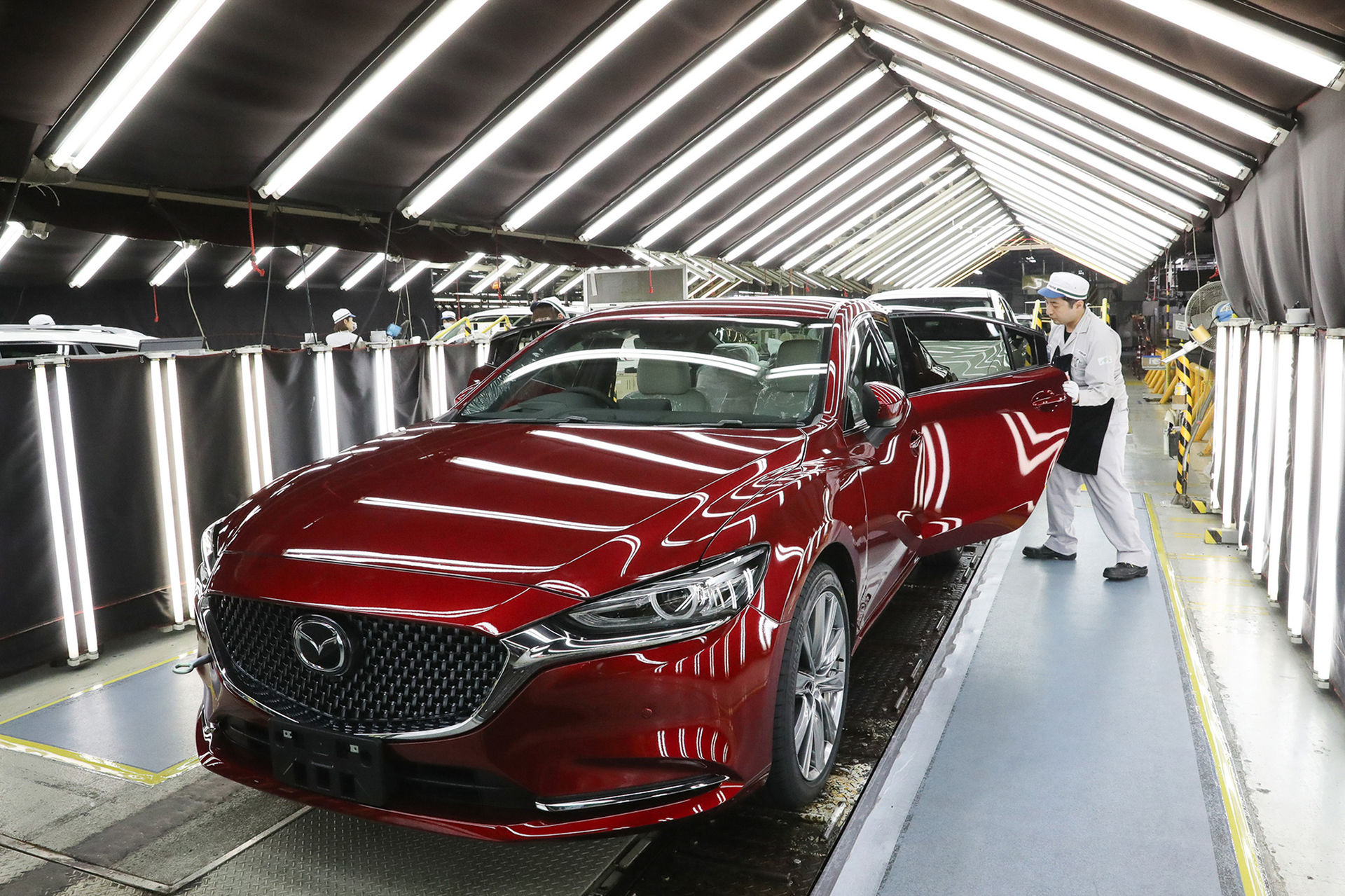Grattis Mazda, ni har nu byggt 50 miljoner bilar
