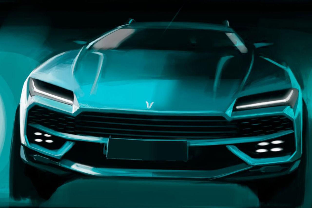 Kinesisk klon av Lamborghini Urus