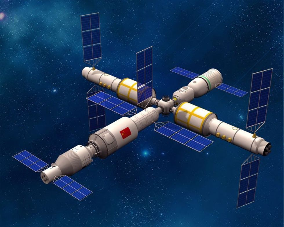 Kina bjuder in internationella forskare till sin rymdstation
