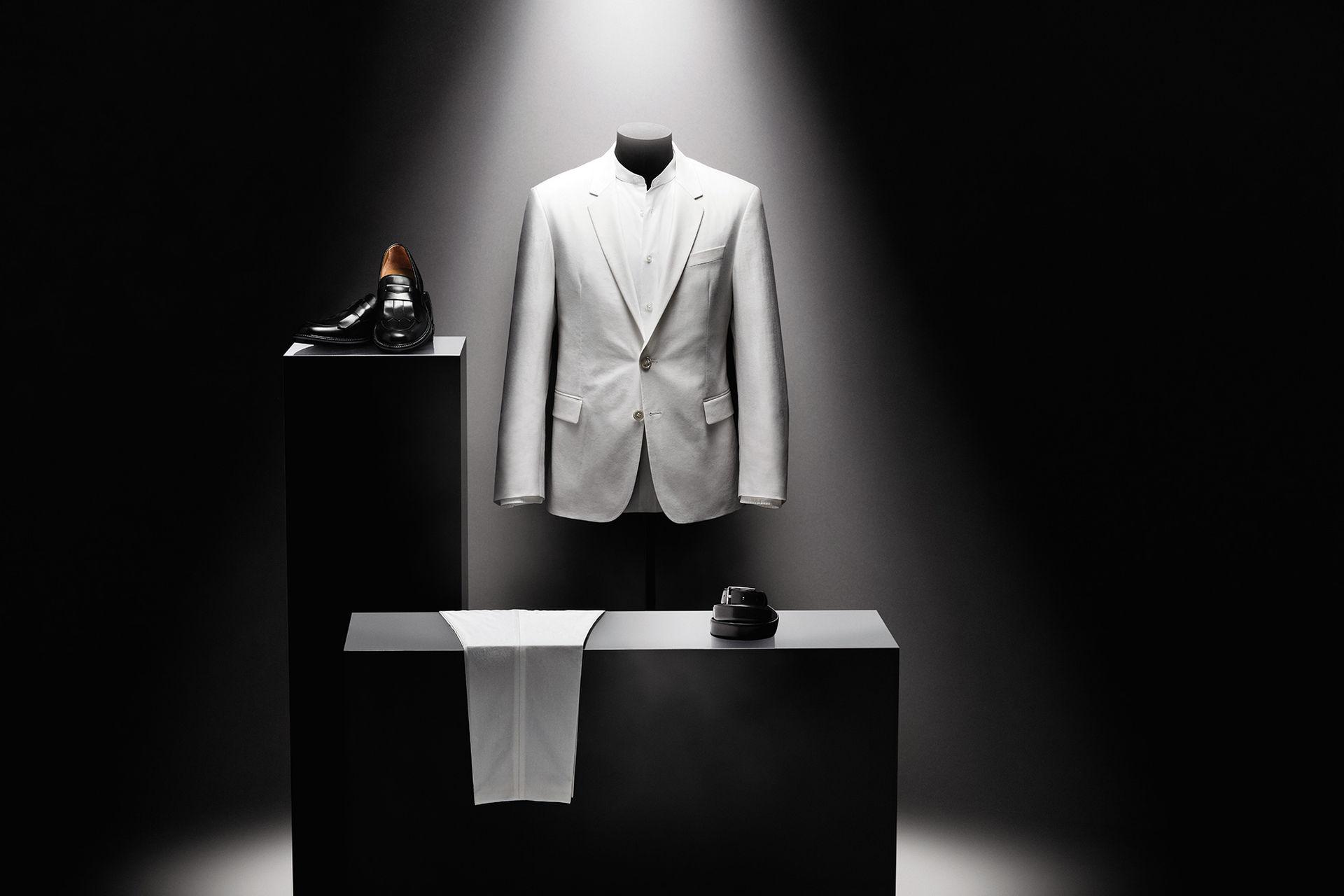 Kostym inspirerad av Michaels Thrilleromslag
