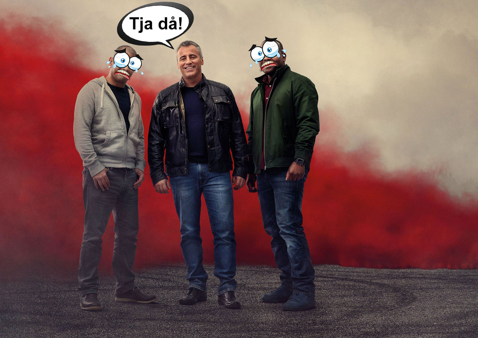 Matt LeBlanc hoppar av Top Gear