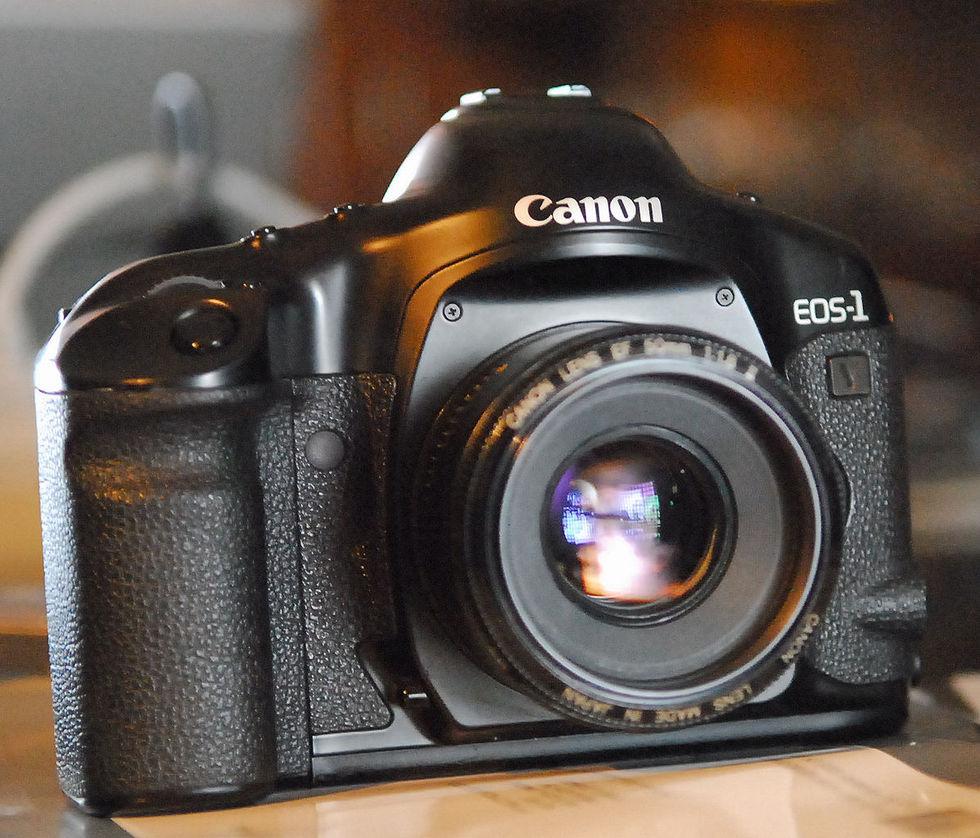 Nu slutar Canon sälja kameror med film