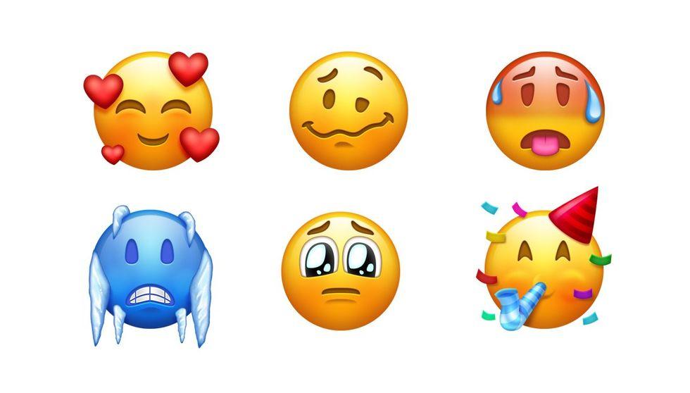 Nästa vecka kommer det nya emojis!